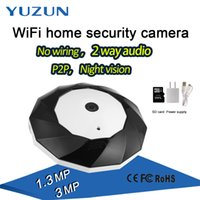 Wholesale Video Camera Fisheye Lens - 3D VR camera 3mp hd 360 degree 5MP panoramic fisheye lens wifi ip onvif camera with PTZ System p2p night vision