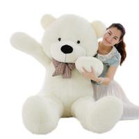 ayı oyuncaklar büyük fiyat toptan satış-180 cm Dev teddy bear büyük doldurulmuş hayvanlar peluş oyuncaklar brinquedos kızlar için en düşük fiyat sevgililer hediye