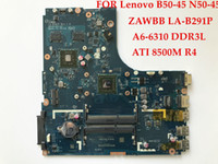 Mini-ITX AMD SATA High quality laptop motherboard for Lenovo B50-45 N50-45 ZAWBB LA-B291P CPU A6-6310 DDR3L ATI 8500M R4 100% Fully tested