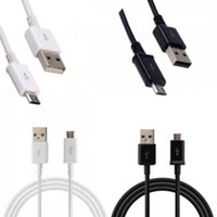 Высокое качество 1M 3FT Micro USB 8 Pin 2.0 Зарядное устройство Sync Data Cable для Samsung Galaxy S4 S5 S6 S7 EDGE Xiaomi HTC Android-Black White 210шт. Лот