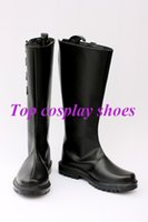 Wholesale Dante Costume - Wholesale-Freeshipping custom-made anime Devil May Cry Dante Alighieri cosplay Shoes Boots for Halloween Christmas festival