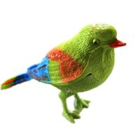 Wholesale Toy Birds Sing - Hot Creative Gift Natural Bird Singing Voice Sound Control Activate Kid Child Toy 2016