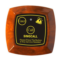 Wholesale Wireless Waiter Call System - SINGCALL Wireless coffee shop service calling system,guest call waiter system,with call,bill,cancel keys