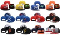 Wholesale Wholesale Snapback Team Caps - Hot New Men's Women's Basketball Snapback Baseball Snapbacks All Teams Football Hats Mens Flat Caps Adjustable Cap Sports Hat mix order