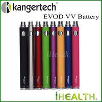 Wholesale Evod Vv - Kanger EVOD VV Battery 1000mah Kangertech Evod Variable Voltage eGo Twist Battery 8 colors 100% Original