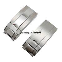 ingrosso fascette in acciaio inossidabile di alta qualità-16mm x 9mm NOVITÀ Cinturino cinturino in acciaio inossidabile di alta qualità Chiusura con fibbia Chiusura per cinturini ROL