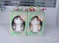 Wholesale Dj Hamster - Hot Cute Speak Talking Sound Record Hamster Talking Plush Toy Animal DJ MIMICRY Voles 30pcs lot