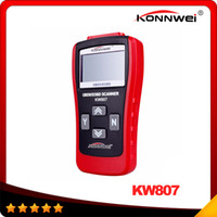 Wholesale Car Diagnostics Auto Scanner - KONNWEI KW807 Car Computer Vehicle Diagnostics Tool GS500 Models G0133 Auto Code reader Scanner DHL free shipping