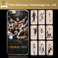 Wholesale Iphone 5c Cases Fast Shipping - Hot Sports Wholesale Newest Star Sport Basketball Case for iPhone 5c 5s 5 se 6 6s Free Fast Shipping