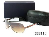 Wholesale Trendy Black Frame Glasses - Brand Design men Sunglasses uv400 protection cool summer beach polarized sunglasses Big Frame Trendy Ccling fishing glasses high quality