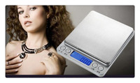 Wholesale 1Pcs High precision jewelry scale miniature gold jewelry electronic medicine grams weigh g g scale kitchen scale