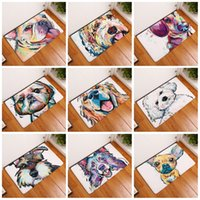Wholesale Homes For Dogs - 3D Bath Mats For Home Kitchen Bathroom Many Styles Anti Slip Footcloth Dog Shape Rug Water Uptake 9 8xr C
