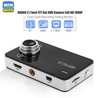 Wholesale Car Dash Camera Logger - K6000 Car DVR Camera Novatek 96220 Dash Cam Auto Video Recorder Full HD 1080P Dual LED Night Vision Video Registrator Car logger