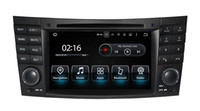 Android7.1 Two Din 7 Inch Car DVD Player para Mercedes / Benz / E-Class / W211 / E300 / CLK / W209 / CLS / W219 / G-Class / W463 Canbus Radio GPS Navegação FM