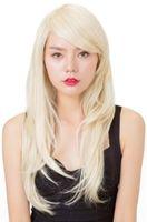 uzun peruk sarışın 613 toptan satış-Tam Dantel Peruk Sıcak Brezilyalı # 613 Patlama Ile Sarışın Bakire Saç Ipek Uzun Sarışın İnsan Saç Peruk Tutkalsız Dantel Peruk Ile Bebek Saç Örgü Peruk