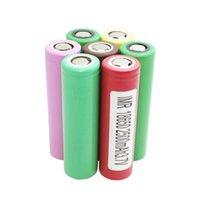 Wholesale C Alkaline Battery - 100% Authentic HG2 30Q 25R 3000MAH 2500MAH 30A High Drain 18650 Battery Panasonic 3400MAH Using Brand Battery Fedex Free Shipping