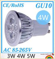 e14 lâmpada led cree 5w venda por atacado-10 pçs / lote Dimmable GU10 E27 MR16 E14 3 W 4 W 5 W 9 W 12 W 15 W de Alta potência CONDUZIU a Lâmpada Holofotes Downlight Lâmpada de Iluminação LED