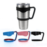 Wholesale Double Wall Plastic - Portable Hand Holder For TETI Rambler Tumbler Mugs 30 oz Cups Cool summer for Outdoor Travel Portable Double Wall Car Cups