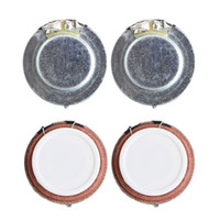 Wholesale audio vibration - Wholesale- 1 Set 2Pcs 4 Ohm 27mm 3W High Fidelity Audio Stereo Speaker Vibration Resonance