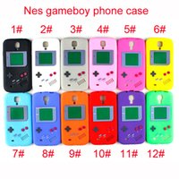 Wholesale Iphone Retro Game - New UVR Phone Cover Case For Iphone Silicone Case Nes Gameboy Phone TPU Case For iPhone smart Cover 6 6plus 7 7plus 8 8plus with Retro game