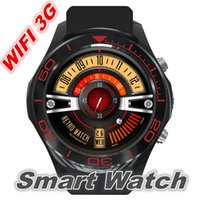 Wholesale Russian Business - Smart Watch S1 Android smartwatch heart rate monitor wearable device Camera Support 3G Wifi GPS RAM 512MB+ROM 4GB for business
