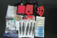 Wholesale Dragonfly Gun Kit - New Arrival Pro Complete Tattoo Kit Dragonfly Rotary Tattoo Machine Gun Power Supply Foot Pedal Needles Grip Tattoo Starter Kit Supply