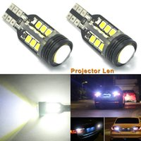 2pcs Super White W16W 2835 SMD 921 T15 LED Chip Emitter Car LED Lamp para 2009 2010 Impreza Legacy Outback Canbus DXY