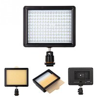 Wholesale Pentax Photography - Wholesale W160 160 LED Video Photography Light Lighting for Canon Nikon Sony Panasonic Olympus Pentax & DV Camera Comcorder