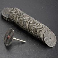 Wholesale Silicon Diamonds - Details about New 100Pcs 32mm Fiberglass Reinforced Cut Off Wheel Discs For Dremel Rotary Tool