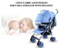 Wholesale Stroller Simple - Simple portable pram baby by baby stroller
