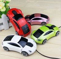 Atacado 5 fotos Original USB Wire Car Shape Mouse Optical Gaming Mice cs para Laptop Laptop