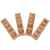 Wholesale Education Wooden Toys - Arpa Montessori Wooden Cylinder Socket Family Pack Early Learning Education Toy 4pcs set