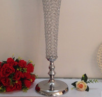 Wholesale rates table - Top-rated crystal wedding centerpiece table decoration flower vase Wedding Supply