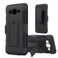 Wholesale Belt Clip Combo - For Samsung Galaxy On 5 On5 Future Armor Impact Hybrid Hard Case Cover + Belt Clip Holster Kickstand Combo