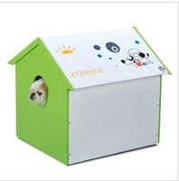 Wholesale Cheap Dog Houses - Factory direct hot sale custom cheap colorful recyclable plastic mat small animal dog cat nest bag supplies cage house pet carrier box