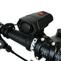 ciclo electrónico al por mayor-Bell de la bicicleta de ciclo cuernos electrónico de la bicicleta del manillar del anillo de Bell Cuerno Fuerte Alarma Aire fuerte sonido de Bell de la bici de seguridad sirena