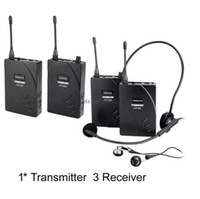 Wholesale Takstar Tour Guide System - Takstar wireless tour guide system Teach Train Tourism 1 Transmitter 3 Receiver TAKSTAR 938 Wireless Tour Guide