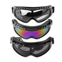 Wholesale Tactical Airsoft Protection Goggles Glasses - Protection Airsoft Goggles Tactical Paintball Clear Glasses Wind Dust Motorcycle arrival free shipping