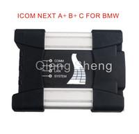 bmw icom a2 hdd toptan satış-TOP kalite Yeni araba obd2 BMW ICOM NEXT A + B + C için teşhis aracı HDD olmadan icom a2 yeni nesil