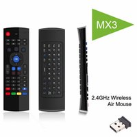 MX3 fly Air Mouse Mini tastiera wireless 2.4 Ghz per S905X T95X S912 mini pc HTPC portatile Smart TV Android Box Telecomando