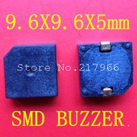 Wholesale Small Buzzers - Wholesale-9.5 * 9.5 * 5 SMD small SMD Buzzer 3V 5V XNQG9605B