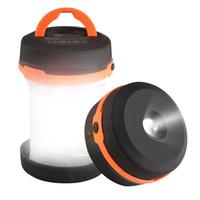 engrenage conduit achat en gros de-Lampe de poche extérieure à LED Camping Lantern Portable Lights Lightweight pliable Imperméable Engrenage Matériel de randonnée pour la marche, la pêche, Voyage, BY DHL
