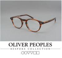 Wholesale Myopia Eyes - Brand Glasses-HOT 2016 Oliver peoples eye glasses OV Riley-K Vintage myopia glasses frame Men women Square frame Retro plate eyeglasses