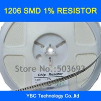 Wholesale Choice Films - Wholesale- Free shipping 1000pcs 1206 SMD 1% Resistor 0R 1R~10M for Your Choice(you can choose 10values each value 100pcs)