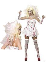 new sale dark ghost bride dress halloween vampire cosplay costume sexy women zombies scary devil masquerade