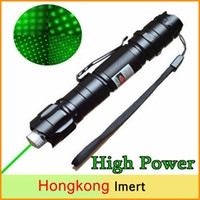 Wholesale Laser Lights Pens - Brand New 1mw 532nm 8000M High Power Green Laser Pointer Light Pen Lazer Beam Military Green Lasers