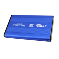 Wholesale solid state drive hard disk for sale - Group buy 2 Inch USB3 Aluminum Alloy External Hard Drive Disk SATA Enclosure Solid State HDD Transmission Speed Up to Gbps