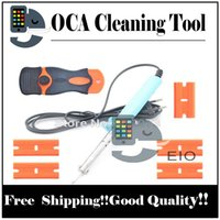 Wholesale Cleaner Oca Loca - For samsung loca remover oca optical clear adhesive cleaning tool soldering iron for iphone 6 5 4s Professional tool