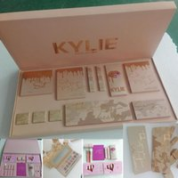 Wholesale Chrismas Set - New Kylie Vacation Bundle Birthday Collection I WANT IT ALL the Box by Kylie Jenner Chrismas 2017 Holiday Edition Fall Collection Makeup Set