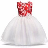 online shopping Dress Gowns - Summer Dress For Girl Prom Gown Evening Kids Party Formal Wear Clothing Lace Wedding Pageant Children Clothes Girls Princess Dresses